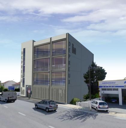 Immeuble de bureaux – Agence IP3