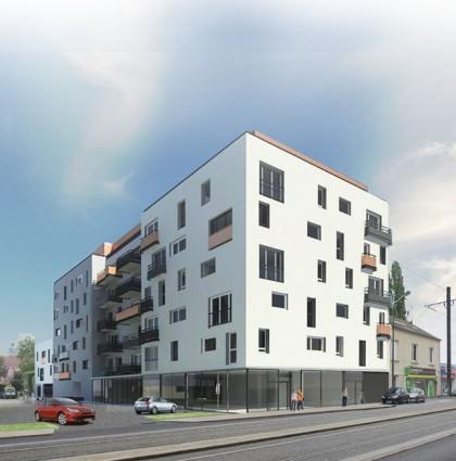 Immeuble de 57 logements – Agence IP3